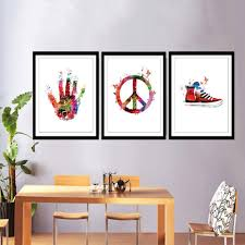popular chinese pop art buy cheap chinese pop art lots from china abastract watercolor canvas painting modern minimalist poster print nordic wall pop art pictures for kids living