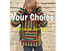 Mexican Rug Sweater Gray Drug Rug Etsy