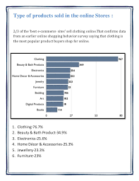 survey report on online shopping