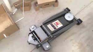 Sears Hydraulic Jack Parts by 4 Ton Harbor Freight Heavy Duty Floor Jack Youtube