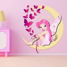 dessin mural chambre fille sticker chambre bb fille incroyable dessin