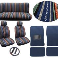 baja blue 12pc car seat cover set from amazon