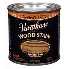 interior wood stain colors home depot varathane 1 2 pt golden oak wood stain 266199 the home depot