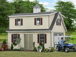 Garage House Kits by Two Story Amish Built Garages From Pa Free Idea Photos