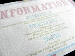 Wedding Invitations Information Information Card Inserts For Wedding Invitations 20
