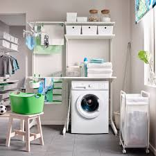 Laundry Room Table With Storage Laundry Utility Room Furniture And Ideas Ikea For Laundry Room