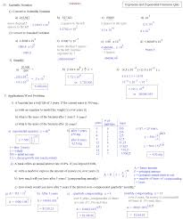 exponential growth and decay problems worksheet worksheets