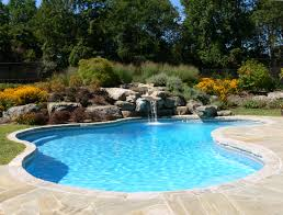 pool waterfall planter sandscapes pinterest pool waterfall