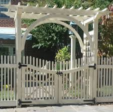 Metal Arches And Pergolas by Wood Fences Expert Fence In Alexandria Virginia