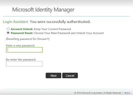 reset microsoft online services password working with the self service password reset portal microsoft docs
