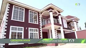 Bedroom House 4 Bedrooms House At East Legon Youtube