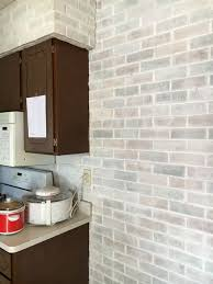 Kitchen Colors For Walls by Whitewash Brick And Kitchen Colors