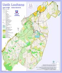 Stirling Scotland Map Training Areas Woc 2015