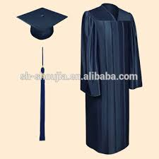 caps and gowns shiny navy blue graduation gowns graduation gowns bachelor