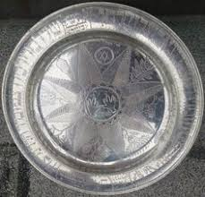 personalized pewter plate passover seder plate dish glass beautiful estate hebrew