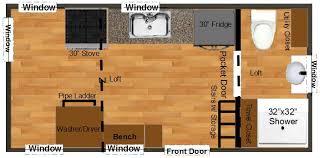 tiny house floor plans home office