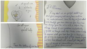 Thank You Letter After Sponsorship Meeting thank you letters from our patients newlife fertility centre