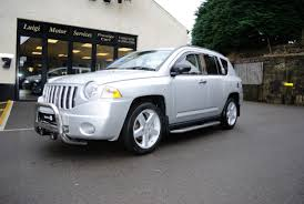 white jeep compass jeep compass 2 0 crd limited station wagon 4x4 5dr