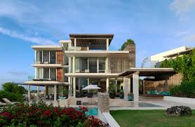 Architectures Big House Designs Of Pool Architecture Houses Design - Caribbean homes designs