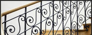 custom ornamental iron railing design parkville md wrought iron