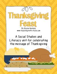 thanksgiving feast classroom writing project thanksgiving
