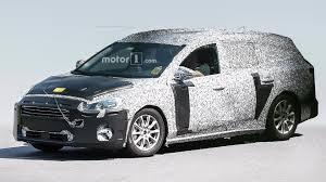 ford focus new ford focus wagon looks all grown up in first spy photos