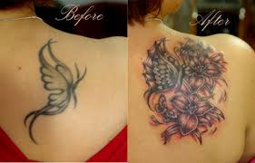 upper back cover up tattoo ideas for woman tattoomagz