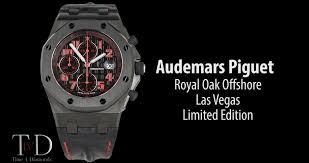audemars piguet royal oak offshore las vegas limited edition