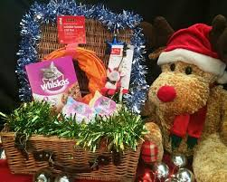 Christmas Basket 10 Christmas Hamper For Our Cats North Clwyd Animal Rescue