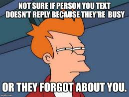 Not Sure If Meme Maker - futurama fry meme not sure if person you text doesn t reply