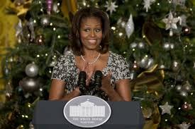 obama unveils white house decorations ny