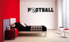 Football Room Decor Football Room Decor Ebay