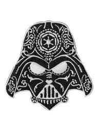 darth vader spirit halloween star wars darth vader sugar skull helmet iron on patch topic