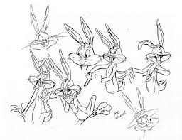 51 looney tunes model sheets images