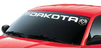 dodge dakota sport decals product window windshield decal sticker for dodge dakota