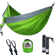dresstells portable double camping hammock lightweight nylon for
