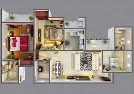 3d design your home photo 23 2 floor house plans 3d on home design ideas