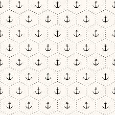 vector seamless retro pattern with anchors u2014 stock vector