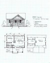 one cabin plans garden cottage e one level with loft free small cabin plans