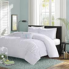 White Ruffled Comforter Mirimar White Ruffle Comforter Set Twin Twin Xl