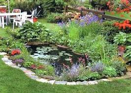 Small Garden Pond Ideas Small Landscape Pond Ideas Pond Backyard Pond Small Pond Ideas For