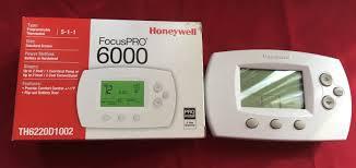 Honeywell Portable Comfort Control Honeywell Focuspro 6000 Th6110d1021 Large Display Programmable