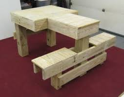 Build A Heavy Duty Picnic Table by Useful Wood Shooting Bench Plans Heavy Duty Easy To Build