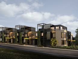 townhouse design the clarke st collective northcote joint venture townhouse design