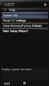 how to reset vizio tv page 46 of vizio flat panel television e470vl user guide