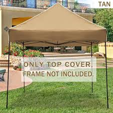Mainstays Gazebo Replacement Parts by Strong Camel Ez Pop Up Canopy Replacement Top Instant 10 U0027x10
