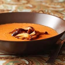mushroom tomato bisque