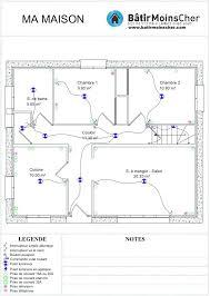 schema electrique chambre plan electrique cuisine schema tableau rt schema plan circuit