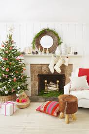 christmas christmas decorationeas pink and cream decorating for