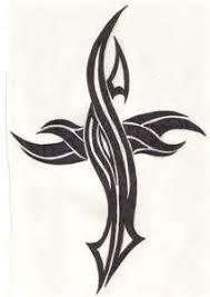 tribal cross tattoo design by jsharts on deviantart ink